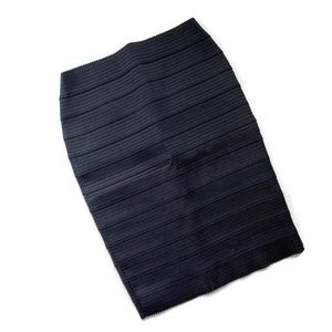 Express Pencil Skirt Black Size Medium